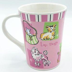 Lap Dog by Riviera Van Beers Pink Mug